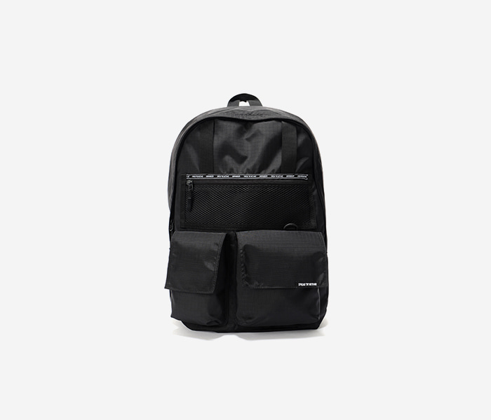 SPREAD BACKPACK - BLACK brownbreath