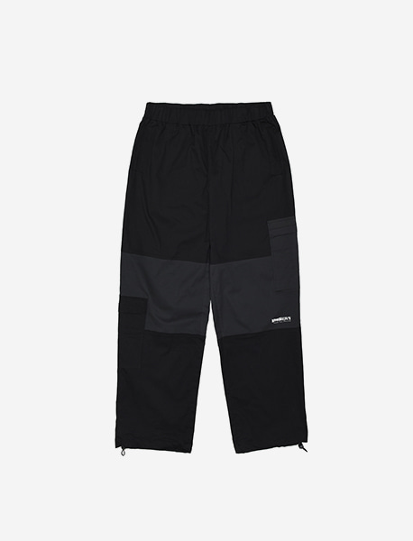 COMPOUND JOGGER PANTS - BLACK brownbreath