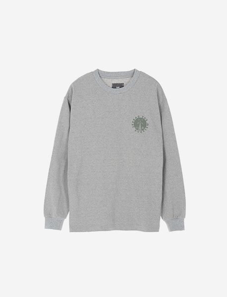 SIGNAL LONGSLEEVE - GREY brownbreath