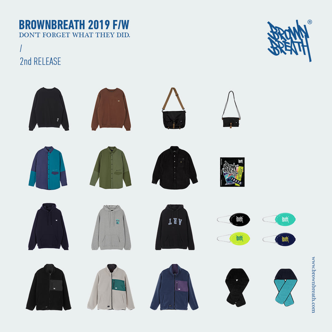 BROWNBREATH 2019 FW 2차 발매 brownbreath