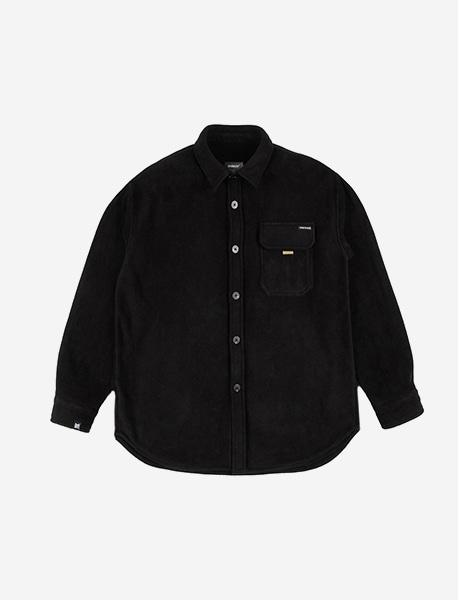 NOMAD FLEECE SHIRTS - BLACK brownbreath