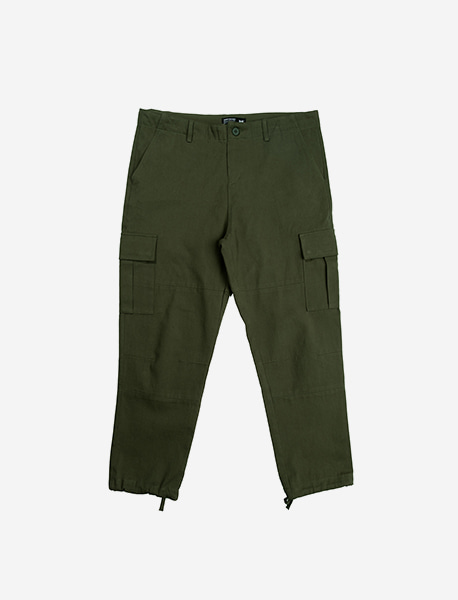 STM CARGO PANTS - KHAKI brownbreath
