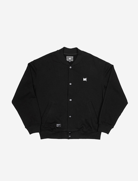 TAG STADIUM JACKET - BLACK brownbreath