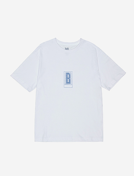 HSTRY TEE - WHITE brownbreath