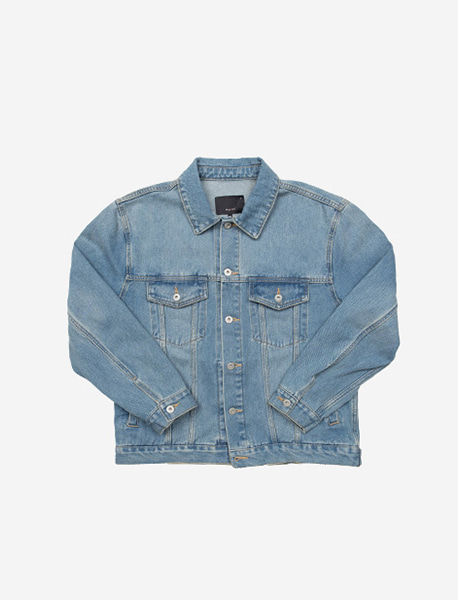 NGRD DENIM JACKET - LIGHT BLUE brownbreath