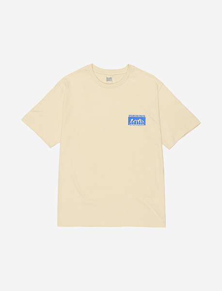 SPEAK THE TRUTH TEE - CREAM brownbreath