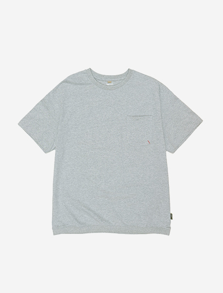 NOGREED POCKET T - GREY brownbreath