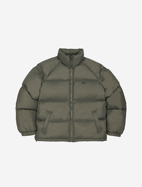 [10/13 예약발송] TAG SHORT DOWN PUFFER - KHAKI brownbreath