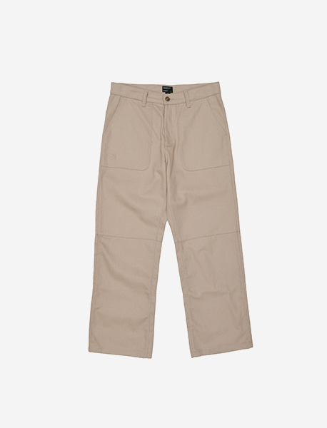 B CHINO PANTS - BEIGE brownbreath