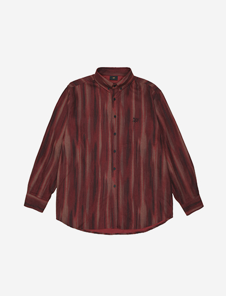 BB DEPT STRIPE SHIRTS - RED brownbreath
