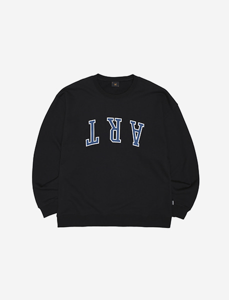 ART CREWNECK - BLACK brownbreath