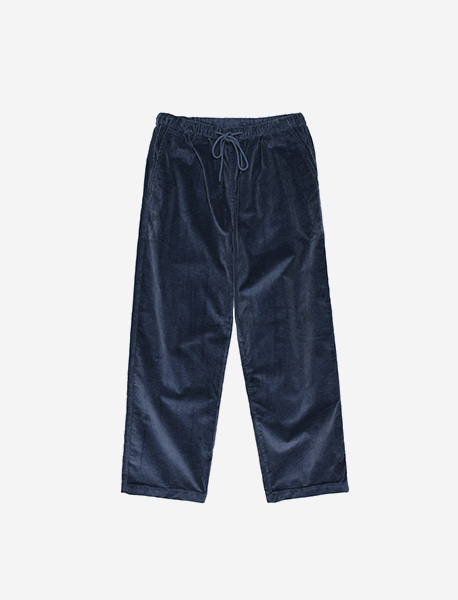 TAG CORDUROY PANTS - BLUE brownbreath