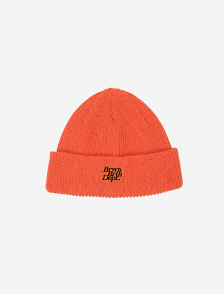 BB DEPT BEANIE - ORANGE brownbreath