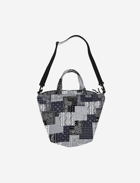 TAG LAF CROSS BAG - NAVY brownbreath