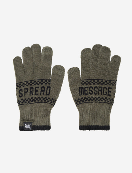 STM GLOVE - KHAKI brownbreath