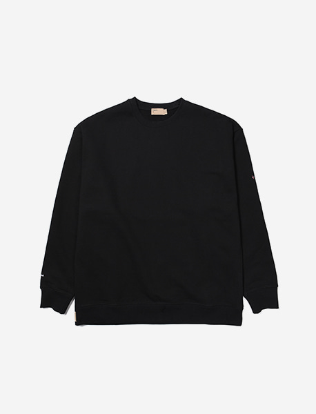 NGRD HEAVY CREWNECK - BLACK brownbreath