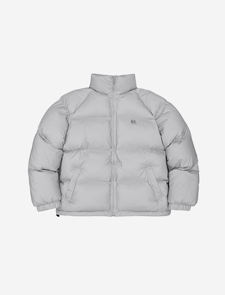 TAG SHORT DOWN PUFFER - GREY brownbreath
