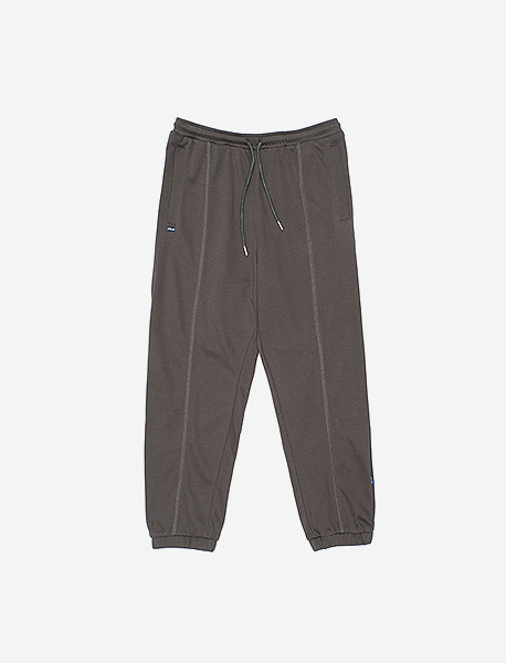 SPRD SWEAT PANTS - CHACOAL brownbreath