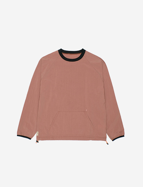 NGRD WVN CREWNECK - BRICK RED brownbreath