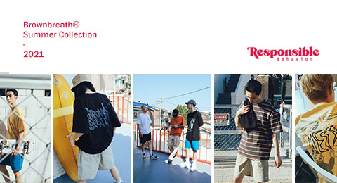 BROWNBREATH 21 SUMMER 2차 발매 brownbreath