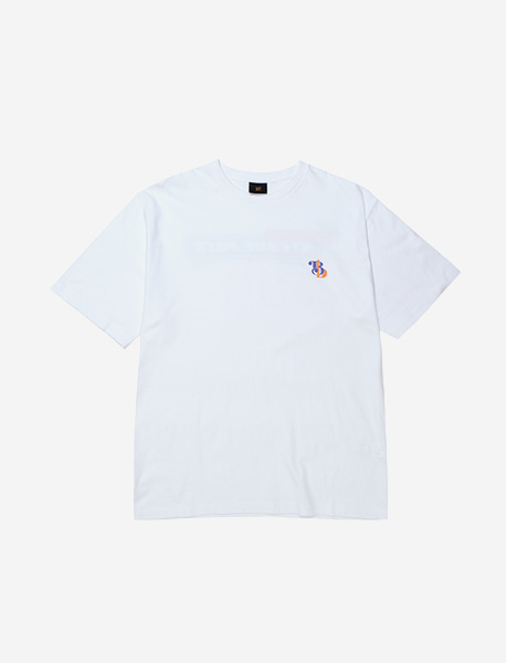 STEADY PACE TEE - WHITE brownbreath