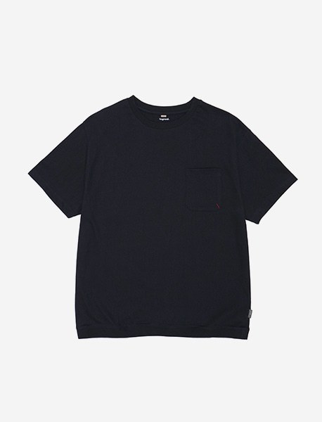 NOGREED POCKET T - BLACK brownbreath