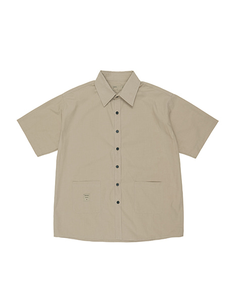 NGRD POCKET SHIRTS - BEIGE brownbreath
